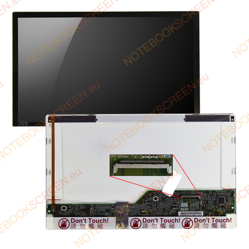 AU Optronics A089SW01 V.0  compatible notebook LCD screen