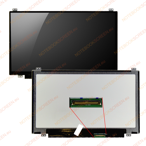 AU Optronics B116XW03 V.2  compatible notebook LCD screen