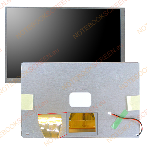 AU Optronics A070VW04 V.0  compatible notebook LCD screen