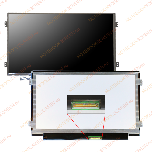 AU Optronics B101AW06 V.1 H/W:1A  compatible notebook LCD screen