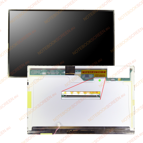 Toshiba Satellite L350-S1701  compatible notebook LCD screen
