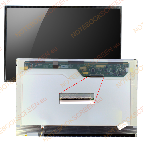 Gigabyte Q1458P  compatible notebook LCD screen