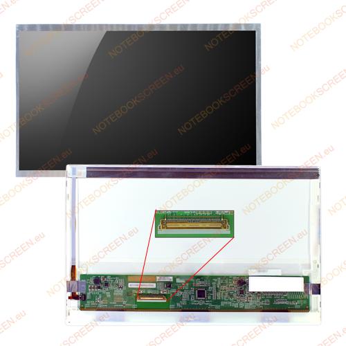 Samsung NP-N150-JA07IT  kompatibilis notebook LCD kijelző