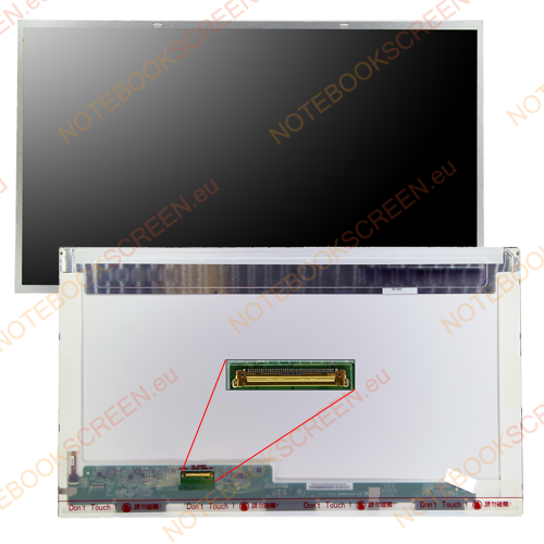 Gateway NV76R25U  kompatibilis notebook LCD kijelző