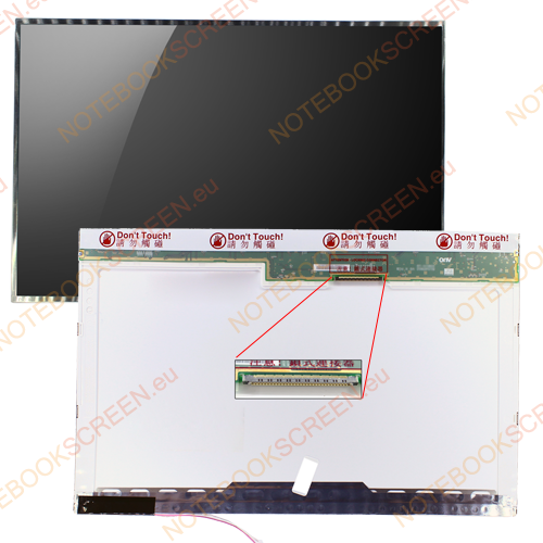 Gateway MX6424  kompatibilis notebook LCD kijelző