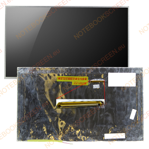 Toshiba Satellite A505-SP6910C  kompatibilis notebook LCD kijelző