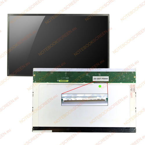 Chimei InnoLux N140A1-L02 Rev.C2  kompatibilis notebook LCD kijelző