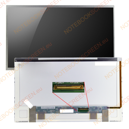 Samsung NP-Q320-AS04  kompatibilis notebook LCD kijelző