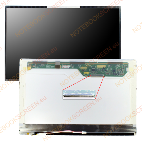 Chimei InnoLux N141C1-L02 Rev.A1  kompatibilis notebook LCD kijelző