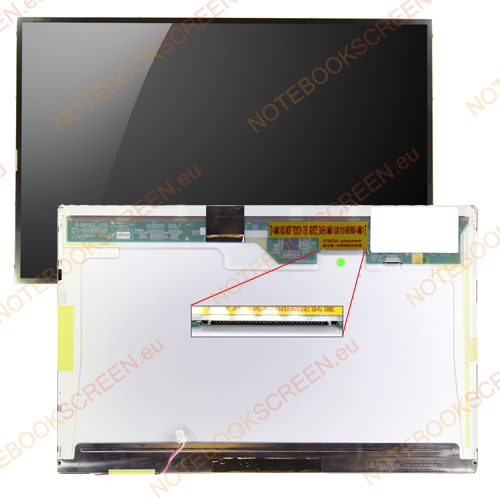 Gateway M680XL  kompatibilis notebook LCD kijelző