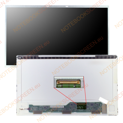 Chimei InnoLux N133B6-L01 Rev.C2  kompatibilis notebook LCD kijelző
