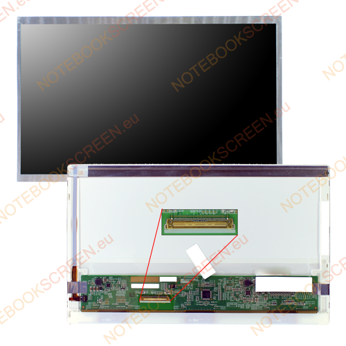 Chimei InnoLux N101N6-L01 Rev.C3  kompatibilis notebook LCD kijelző
