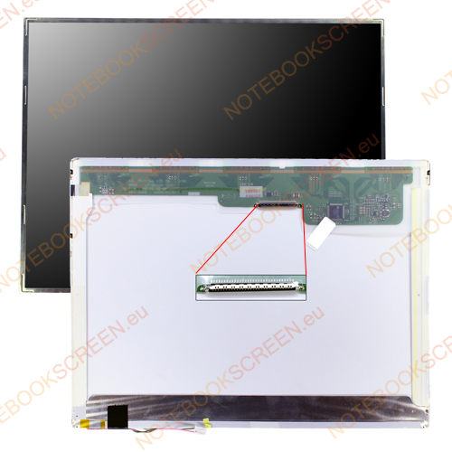 Chimei InnoLux N150X3-L09 Rev.C1  kompatibilis notebook LCD kijelző