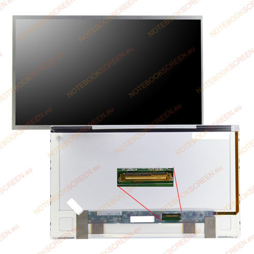 Chimei InnoLux N134B6-L01 Rev.C2  kompatibilis notebook LCD kijelző