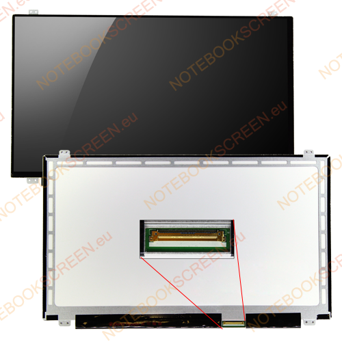 LG/Philips LP156WHB (TL)(A2)  kompatibilis notebook LCD kijelző