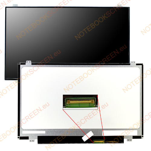 LG/Philips LP140WH2 (TL)(L1)  kompatibilis notebook LCD kijelző