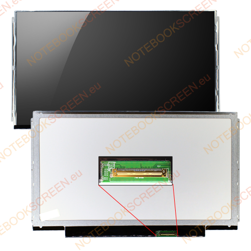 Lenovo ThinkPad Edge 13 0250-30U  kompatibilis notebook LCD kijelző