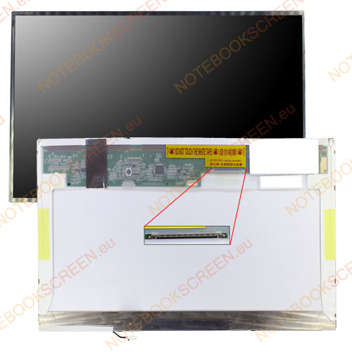 Toshiba Satellite A300 PSAGUE-00C005G3  kompatibilis notebook LCD kijelző