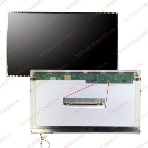 Gateway NV55C11U  kompatibilis notebook LCD kijelző