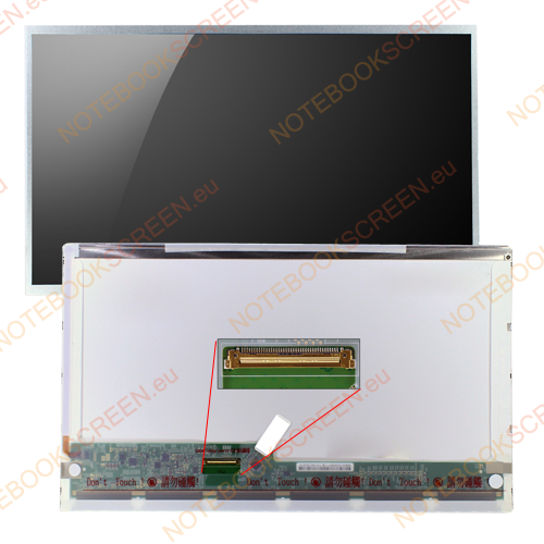 Toshiba Satellite C645D-SP4016M  kompatibilis notebook LCD kijelző