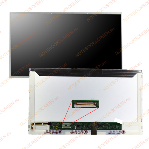Gateway NV5356U  kompatibilis notebook LCD kijelző