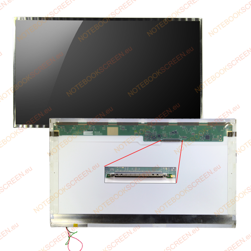 Gateway NV55C25U  kompatibilis notebook LCD kijelző