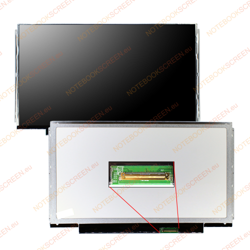 Lenovo ThinkPad Edge 13 0492-24G  kompatibilis notebook LCD kijelző