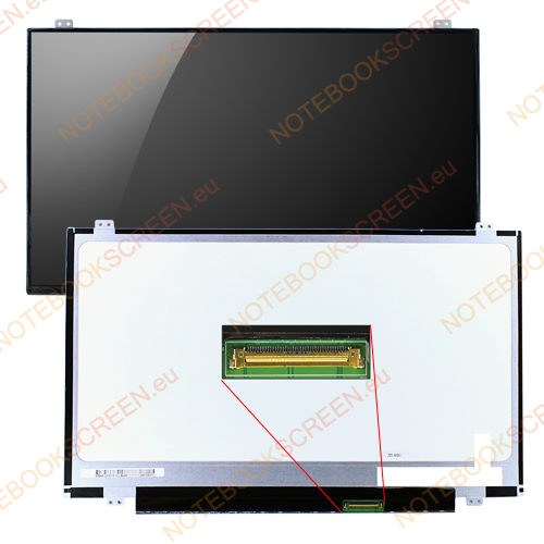 HP Chromebook 14-Q005SA  kompatibilis notebook LCD kijelző