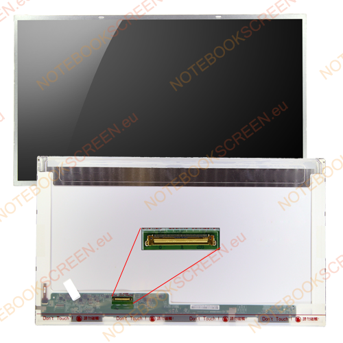 Gateway NV75S05U  kompatibilis notebook LCD kijelző