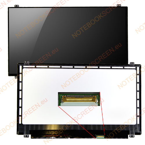 Gateway NV510P series  kompatibilis notebook LCD kijelző
