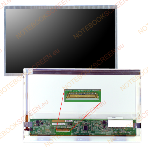 Toshiba Mini NB505-SP0111L  kompatibilis notebook LCD kijelző