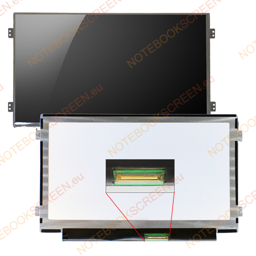 Gateway LT27 series  kompatibilis notebook LCD kijelző
