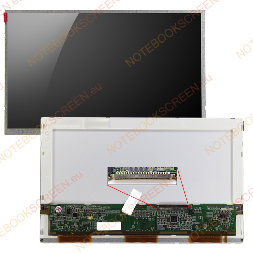 MSI Wind U100-222UK  kompatibilis notebook LCD kijelző