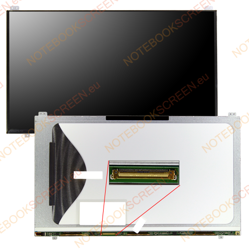 Samsung NP305V5A-S02IT  kompatibilis notebook LCD kijelző