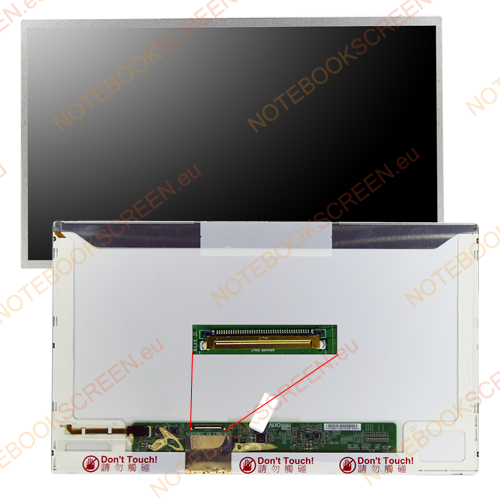 Gateway TC73 series  kompatibilis notebook LCD kijelző